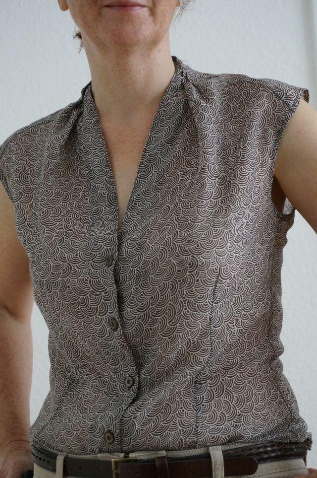 Burda 9/2011, Modell 128, Bluse